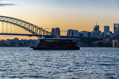 sydney harbour (Greg M Rohan) Tags: milsonspoint buildings building skyscrapers skyscraper sunset architecture cityscape skyline northsydney boat harbourbridge bridge sydneyharbourbridge sydneyharbour harbour sydney nsw australia water 2019 d750 nikon nikkor