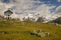 Piú vicino a Dio / Closer to God (Valle di Gressonney, Valle D'Aosta, Italy) (AndreaPucci) Tags: italy italia valledaosta monterosa church gressonney andreapucci bettaforca santanna staffal