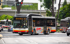 SMRT MAN NL323F With Gemilang Coachwork MAN Lion's City Hybrid Bodywork (chungleung1) Tags: man manlionscityhybrid manlionscity nl323f gemilang a22 euro5 12m singapore sgbus sg choachukang 302 smb1485m smrt