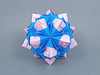 Indira (masha_losk) Tags: kusudama кусудама origamiwork origamiart foliage origami paper paperfolding modularorigami unitorigami модульноеоригами оригами бумага folded symmetry design handmade art