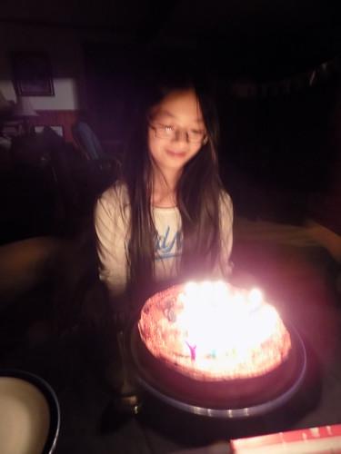 Celebrating Olivia's 13th birthday