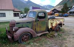 International Pickup truck (D70) Tags: international pickup truck silverton colorado unitedstates toyota hilux 4runner volkswagen t1 bus transporter kombi type1