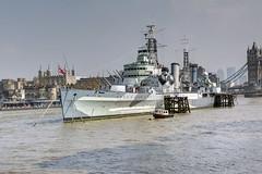 HMS Belfast, London, March 2019 (marktandy) Tags: hmsbelfast london river thames cruiser toweroflondon ship