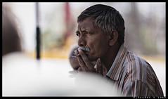 _80E0920 copy (pauravkshah) Tags: pauravkshah ahmedabad gujarat person people candid smoking fun habbit alone lonely nikon nikond800e d800e 1352dc 1352 blur bokeh availablelight nikon1352dc dc photography