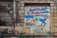 Mimil retombera-t-il sur ses pattes ? (Isa-belle33) Tags: urban urbain city ville fujifilm bordeaux street streetphotography streetart streetartbordeaux davidselor