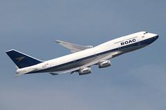 G-BYGC (Ian.Older) Tags: british airways 747 jumbo 747436 heathrow feltham park topside aircraft airliner ba100 civil aviation gbygc