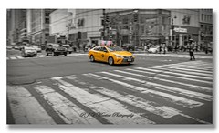 NYC Taxi Cab (P.J.V Martins Photography) Tags: city taxi cab car carro nyc newyork cityscape panning