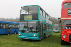 IMG_2489 (Ray's Photo Collection) Tags: 400 alexander alx400 arriva london detling daf alx s223jua dla23 mercedesbenz heritage transport show maidstone kent england uk southeast bus festival rally