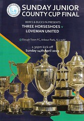 5 (Dale James Photo's) Tags: three horseshoes football club loveman united fc berks bucks fa sunday junior cup county final arbour park slough town bbfacountycups non league