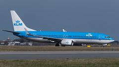 PH-BXY / Boeing B737.8K2 / KLM (PBe1958) Tags: transportation lietadlo aircraft airplane aero aeroplane airliner jetliner boeing b738 b7378k2 klm prg praha ruzyne vaclav havel