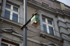 Blok is vrij (Tim Boric) Tags: świętochłowice tram tramway streetcar strassenbahn tramwaj interurban vicinal überlandbahn ztm enkelspoor beveiliging singletrack signalling