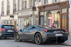 Ferrari 458 Speciale (Alexandre Prévot) Tags: voiture european cars automotive automobile exotics exotic supercars supercar worldcars nancy lorraine france 54 54000 auto car berline sport route transport déplacement parking luxe grandestsupercars ges meurtheetmoselle