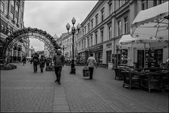 DRD160605_0839 (dmitryzhkov) Tags: urban outdoor life human social public stranger photojournalism candid street dmitryryzhkov moscow russia streetphotography people bw blackandwhite monochrome arbat arbatstreet