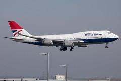 G-CIVB // British Airways // Negus // Boeing 747-436 // Heathrow (SimonNicholls27) Tags: negus nexus british airways retro gcivb b747436 b747400 heathrow lhr egll ba