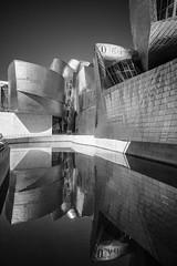 Reflejos de metal (noldor12) Tags: museoguggenheim bilbao reflejos bn blackandwhite bizkaia paísvasco spain canoneosr canonef1635f4lisusm frankogehry