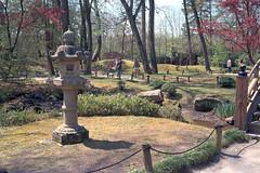 Maymont Gardens (mccarsonjr) Tags: electro gx yashinon kodak pro image 100 garden japanese statue trees