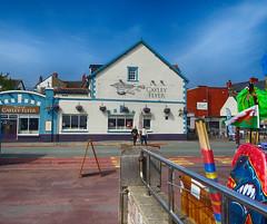 The Cayley Flyer (Gill Stafford) Tags: gillstafford gillys image photograph wales northwales conwy hotel hostelry pub cayley flyer caley rhosonsea