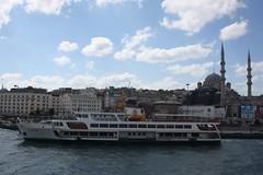 Eminonu District (lazy south's travels) Tags: istanbul turkey turkish boat ferry bosphorus river transport building architecture eminonu harbourside