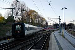 P1800082 (Lumixfan68) Tags: eisenbahn züge triebwagen baureihe mf dieseltriebwagen ic3 gumminase intercity dsb dänische staatsbahn