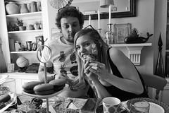 Tom and Lydia 2019 (Bury Gardener) Tags: family friends relatives 2019 fuji fujixt3 fujifilm portrait bw blackandwhite monochrome mono england eastanglia uk people folks