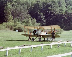 1916 Sopwith Pup Replica - Old Rhinebeck Aerodrome (jjambien1) Tags: oldrhinebeckaerodrome ora colepalen dickking sopwithpup n5139 1916reproduction britishsingleseaterbiplanefighter richardking 80hplerhône9crotaryengine unionswitchandsignalcompany worldwaroneairplanes hawkersiddeley royalflyingcorps royalnavalairservice royalairforce biplanefighter rhinebeck dutchesscounty redhookny jjambien1 aircraftofthefirstworldwar