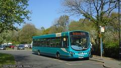 Arriva Buses Wales Wrightbus VDL Pulsar CX14 BYG 3169 - Betws y Coed (Efan Thomas Bus Spotting Photography) Tags: arriva buses wales wrightbus vdl sb200 pulsar cx14byg 3169