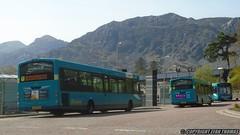 Railway Coastliners (Efan Thomas Bus Spotting Photography) Tags: arriva buses wales wrightbus vdl sb200 pulsar cx14byd 3167 cx14byg 3166 cx14byh 3170