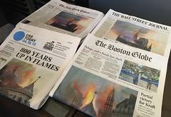 Notre-Dame is burning (Jean (tarkastad)) Tags: tarkastad unitedstates usa etatsunis boston afp gothique