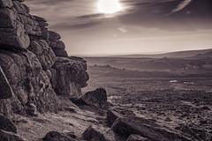 Hay Tor (FlickrDelusions) Tags: devon dartmoor haytor landscape hdr duotone
