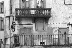 The balcony (1) (lebre.jaime) Tags: portugal beira covilhã house degradation decay balcony nikon d600 afsnikkor5018g ff fx fullframe bw blackwhite noiretblanc pb pretobranco ptbw