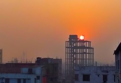 Happy morning 😍 (Nihad Ehasamul1) Tags: morning sun sunrise sky skyscape cityscape building natural world yellow colour photography samsung cellphoneclick weather lovely dhaka narayanganj bangladesh