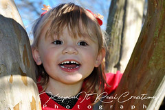 Young Fun (keepinitrealcreations) Tags: girl tree kid beauty baby smiling fun nc park photo photography photoshoot