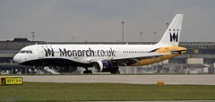 monarch G-OZBM  _MG_1004 (M0JRA) Tags: monarch gozbm emirates airbus a380 icelandair ryanair easyjet flyvlm delta virgin atlantic condor iceland air manchester airport airports jets flying aircraft sky clouds otts planes airplane jet cockpit grass window road building people photo