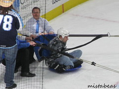 Human Hockey Puck II (mistabeas2012) Tags: ahl hockey