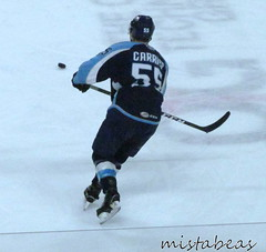 Puck Near Carrier (mistabeas2012) Tags: ahl hockey