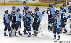 Celebration After A Shutout (mistabeas2012) Tags: ahl hockey