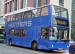 Leeds (Andrew Stopford) Tags: v52moa volvo b7tl plaxton president hunters leeds nationalexpresswestmidlands travelwestmidlands