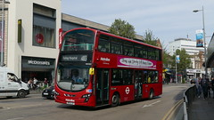 Standalone Transfer (londonbusexplorer) Tags: metroline west volvo b9tl wrightbus gemini 2 vw1833 bf10lsy 483 harrow ealing hospital tfl london buses