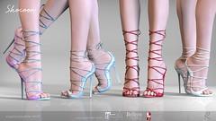 Remezzo (Remezzo - jiiim luik) Tags: remezzo dubai event newrelease heels hud highquality maitreya mesh woman belleza customizablehud customizable secondlife sl slink shoes style straps colors fatpack
