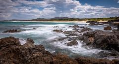 Woolgoolga lookout (Dreamtime Nature Photography) Tags: woolgoolga sunrise nsw australia newsouthwales beach ocean plage mer canon landscape paysage dreamtimenaturephotography