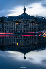 Reflet Urbain (PaaulDvD) Tags: bordeaux couleurs aquitaine gironde city cityscape urban night blue hour