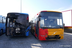 2013' Volvo 8900LE / B7RLE-63 & 2006' Volvo B7RLE / Ajokki 8700 (Kim-B10M) Tags: arriva midttrafik movia 3163 1275