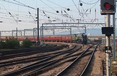 A4 Pacific No. 60009 at Newcastle - 20th April 2019 (allan5819 (Allan McKever)) Tags: steam a4 pacific 462 lner 60009 union south africa train railtour charter excursion 1z10 theedinburghflyer newcastle central