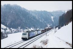 Lokomotion 185 662, St. Jodok 08-02-2018 (Henk Zwoferink) Tags: stafflach tirol austria stjodok henkzwoferink lm lomo lokomotion rtc railtractioncompany traxx bombardier 185 br185 662 661
