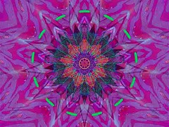 Green Shadows (Kombizz) Tags: kombizz kaleidoscope experimentalart experimentalphotoart photoart epa samsung samsunggalaxy fx abstract pattern art artwork geometricart c1614 greenshadows purple green pink