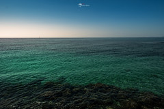 Blue and Green (Borislav Aleksiev) Tags: fujifilm xt3 mediterranean sea benidorm light green last blue sky dark nature water travel
