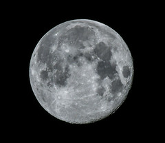 April Full Moon (WeatherlyKC) Tags: fullmoon moon lunar sky astro astrophotography