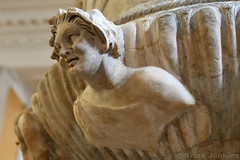 Piranesi Vase Face (2nd Century AD) (Bri_J) Tags: britishmuseum london uk museum historymuseum nikon d7500 piranesivase face romanart ancientrome calyxkrater marble