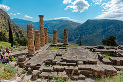 Delphi RX605949 Temple of Apollo (Recliner) Tags: oracle pytho mountparnassus