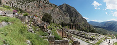 Delphi A6507539 Panorama shot of the steep hillside site (Recliner) Tags: oracle pytho mountparnassus